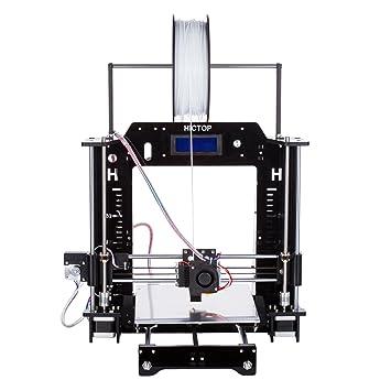 hictop 24v reprap prusa i3 3d printer acrylic frame diy kits