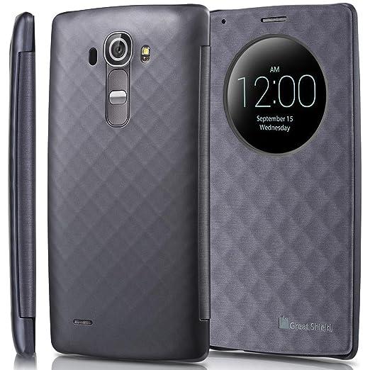 10 opinioni per LG G4 Quick Circle, GreatShield [SHIFT LX] [Finestra Tagliare-Su] Diamante