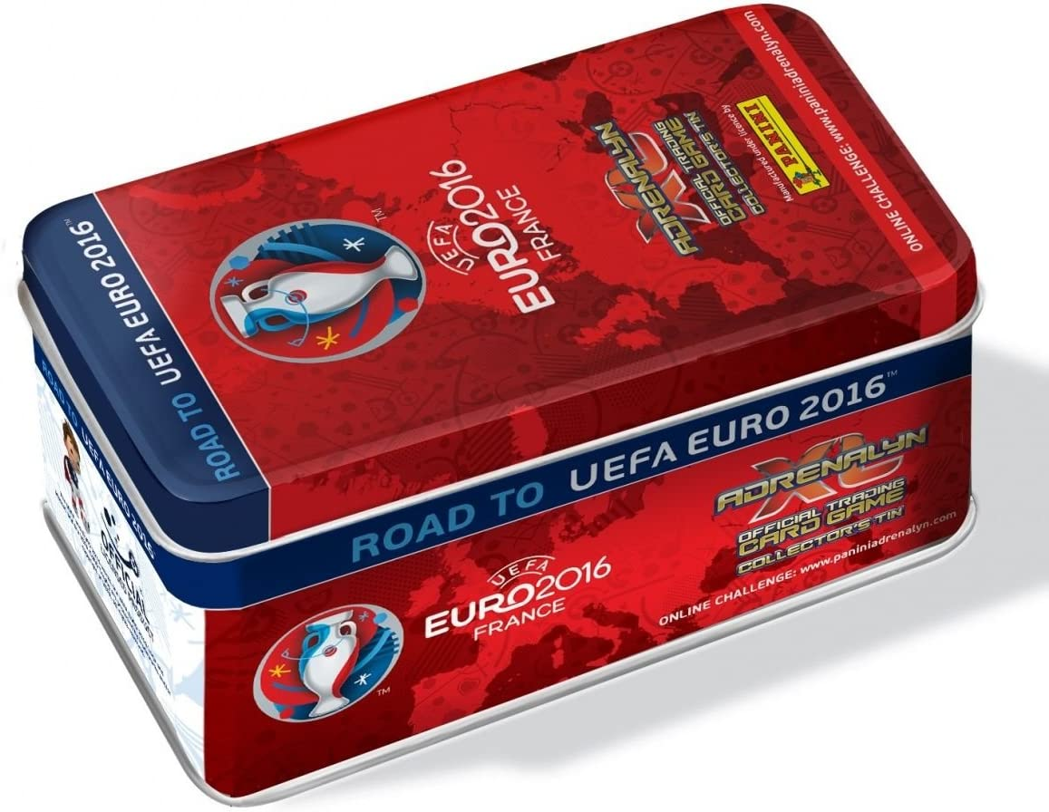 Panini Adrenalyn Road to UEFA EURO 2016 Collectors Tin limited ...