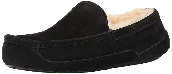 UGG Ascot 5775 - Zapatillas de casa para hombre, color negro, talla 40.5: Ugg: Amazon.es: Zapatos y complementos