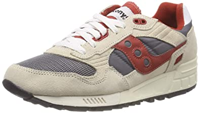 brand new 889ed a79d6 Saucony Shadow 5000 Vintage Men 6 Off-White   Grey   Red