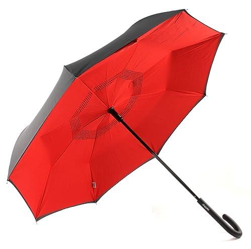 Paraguas con cierre del revés doppler crazy