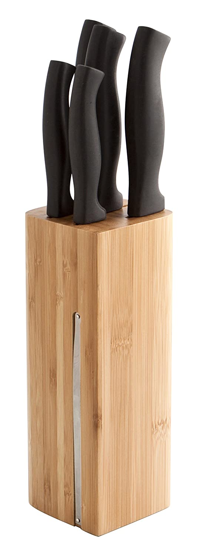 Compra Quid Tacoma 5 Cuchillos con Base de Bambu Miltonia ...