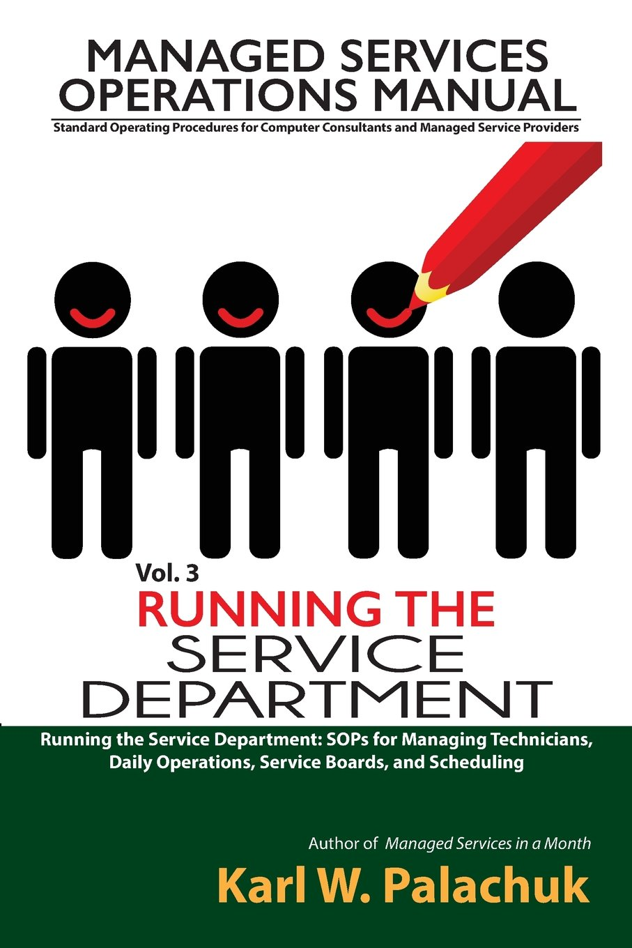 Vol 3 Running The Service Department Sops For Managing
