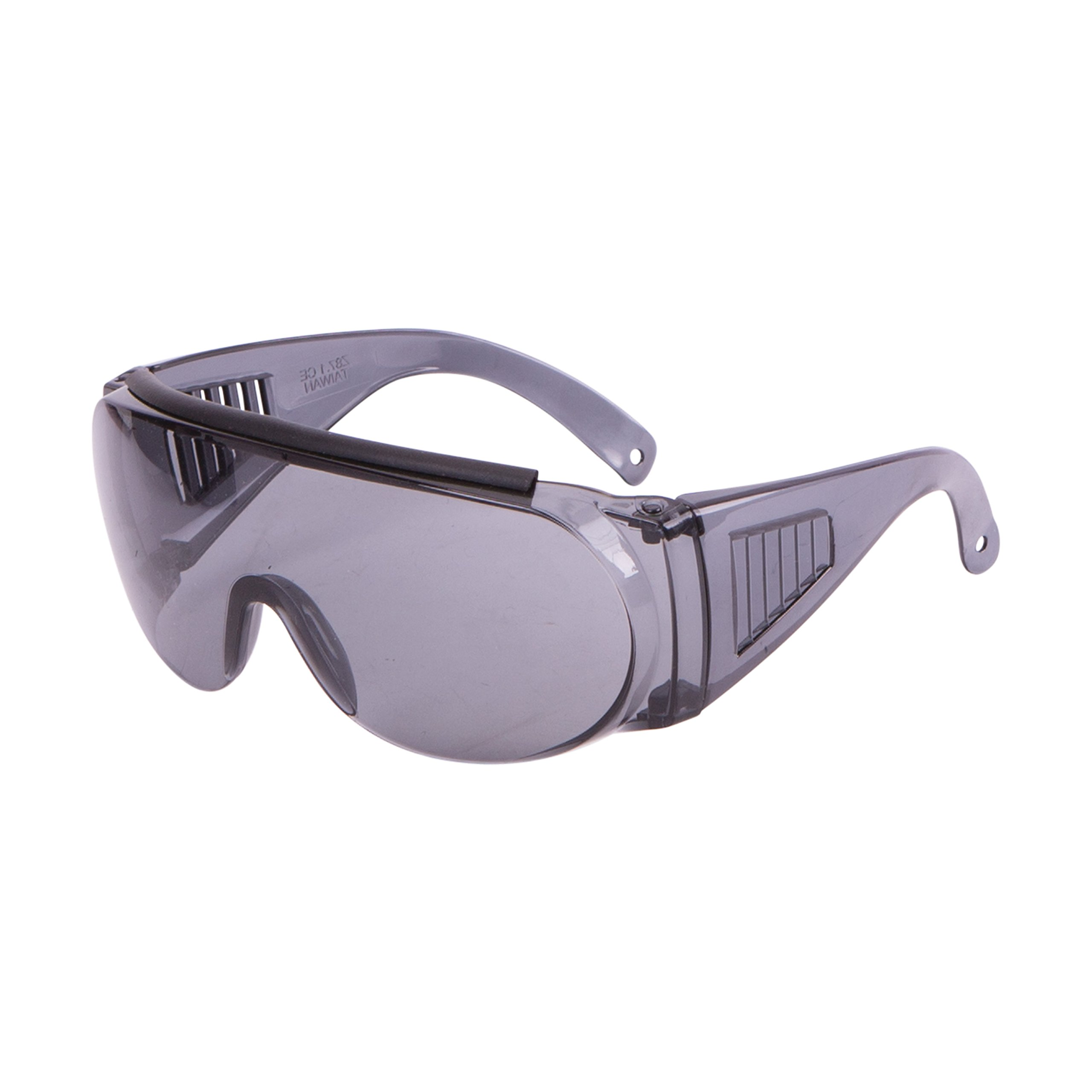 Allen Over Shooting & Safety Glass for Use with Prescription, Mirror Smoke