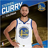 Golden State Warriors Stephen Curry 2021 Calendar