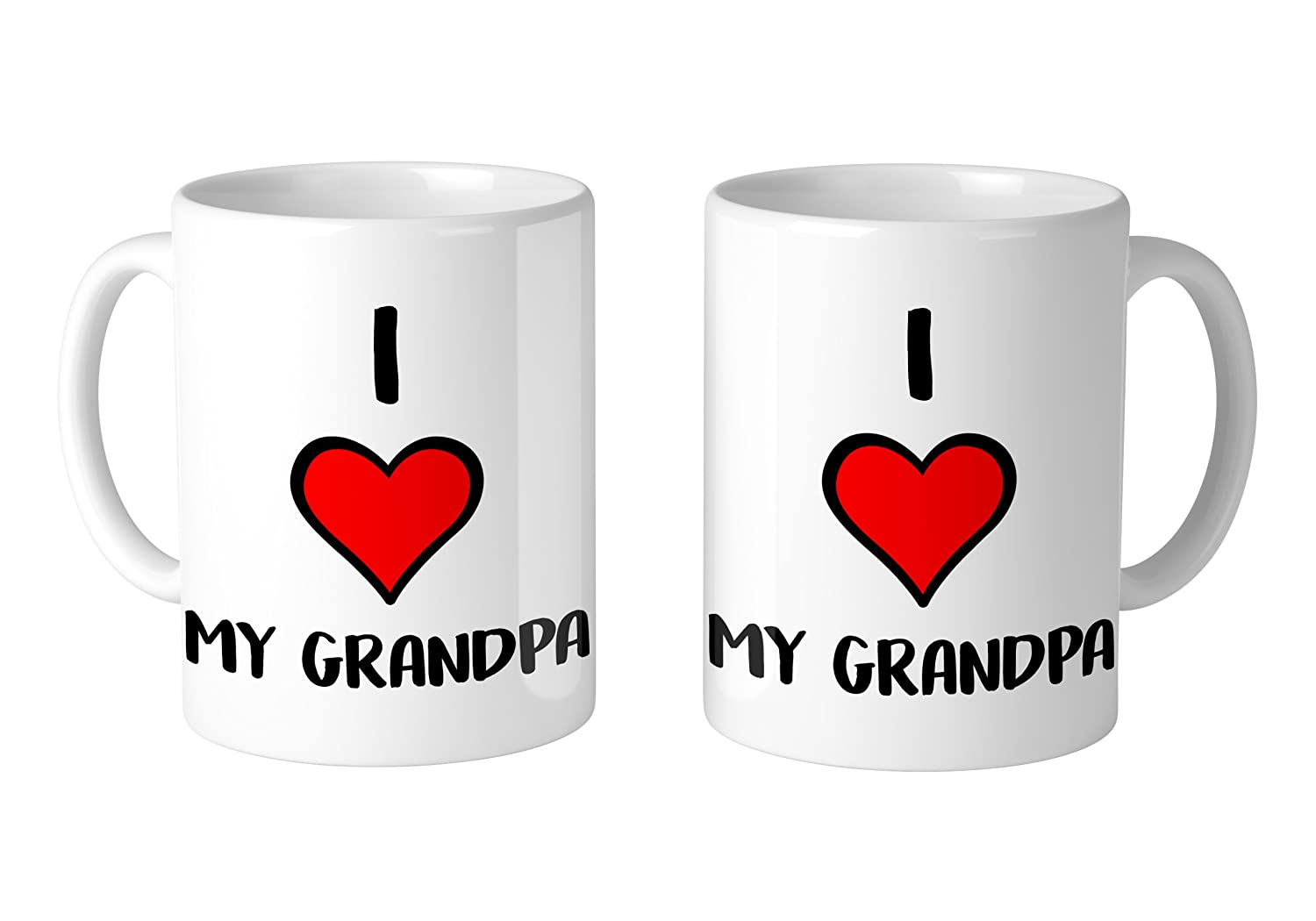 1 Mug Mug I Love My Grandpa 11 oz