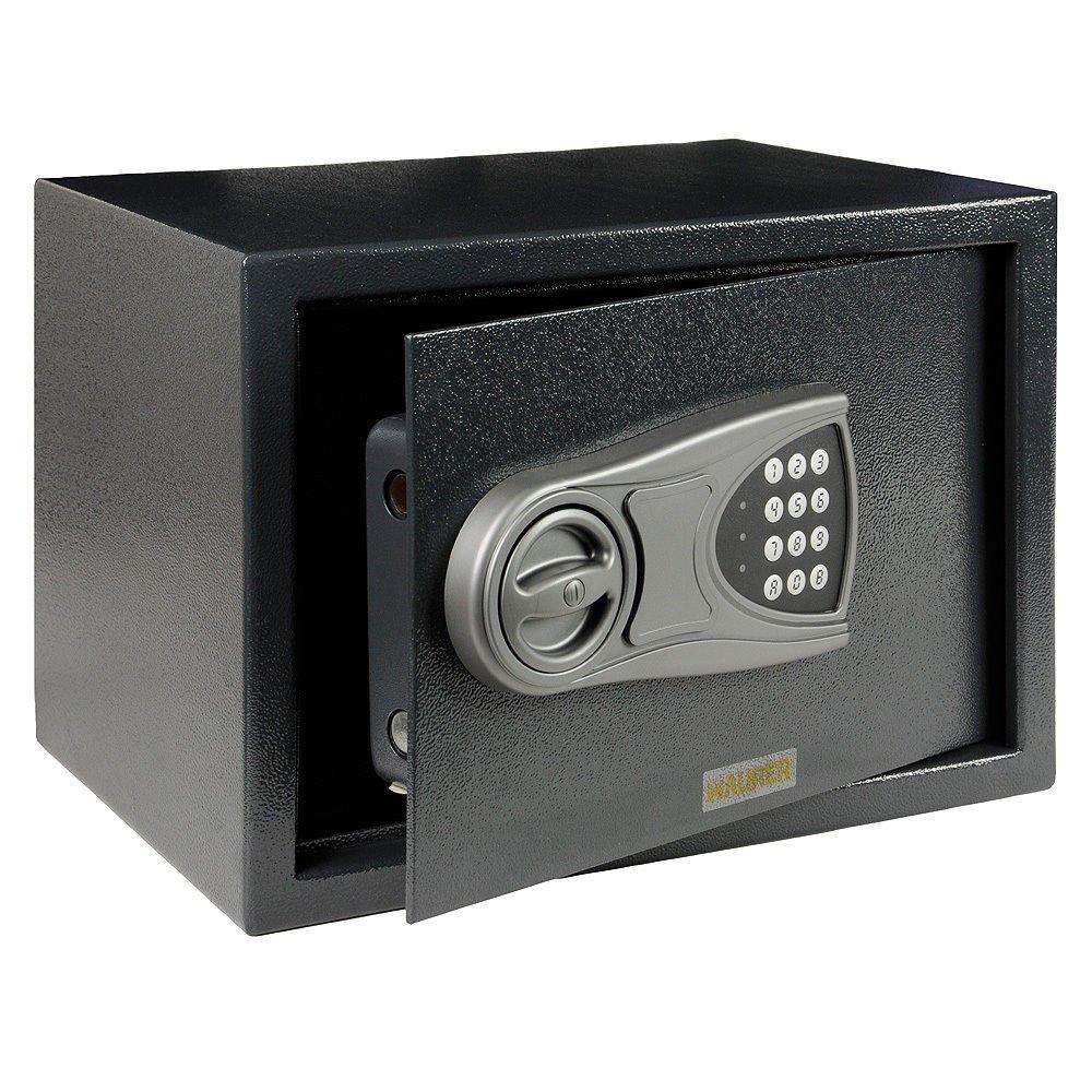 Cassaforte a mobile elettromagnetica porta anteriore 4 mm 31x20x20 cm MAURER
