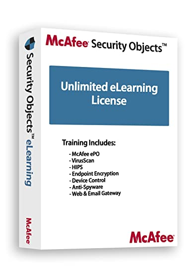 Amazon com: McAfee Training: Total Protection Unlimited Annual License