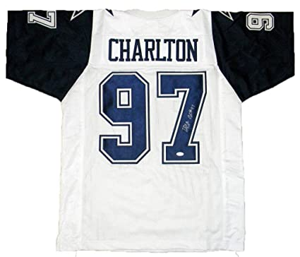 346a7ed36 Taco Charlton Signed Jersey -  97 Color Rush - JSA Certified - Autographed  NFL Jerseys