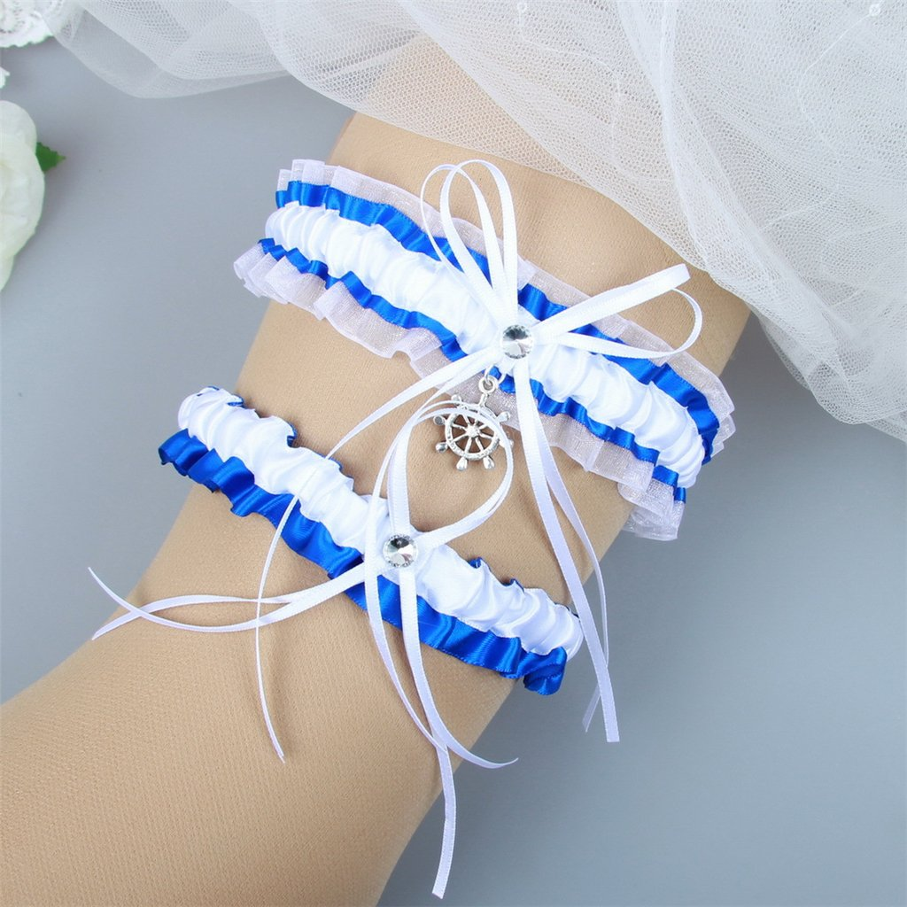 Lace Vintage Prom Bridal Gift Classic Series APXPF Womens Wedding Garter Set
