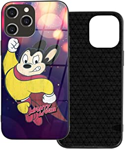 Retrom-Market Mighty Mouse iPhone 12 Glass Case