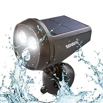 Komplett Neu Solar Bewegungsmelder Licht, Sensky BS133 Wasserdicht LED  HS42