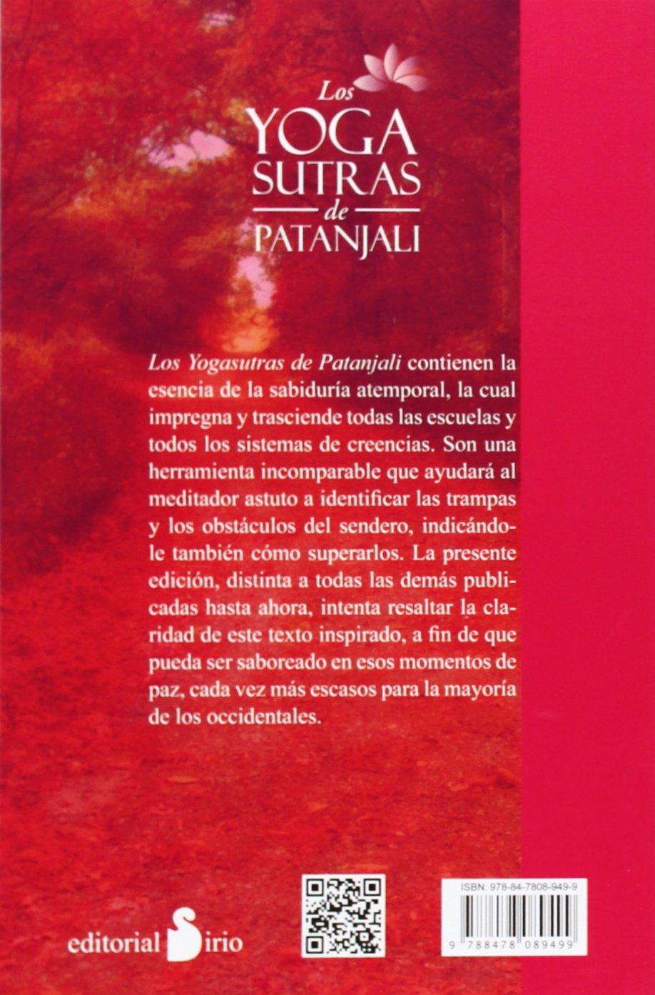 Los yogasutras de Patanjali (Spanish Edition): Patanjali ...