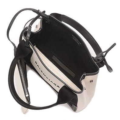 f944168321c6 Amazon | (バレンシアガ) BALENCIAGA 2WAY キャンバス ロゴプリント ポーチ付き トートバッグ  [BCL390346AQ38N8]ブラック / - [並行輸入品] | バッグ・スーツケース