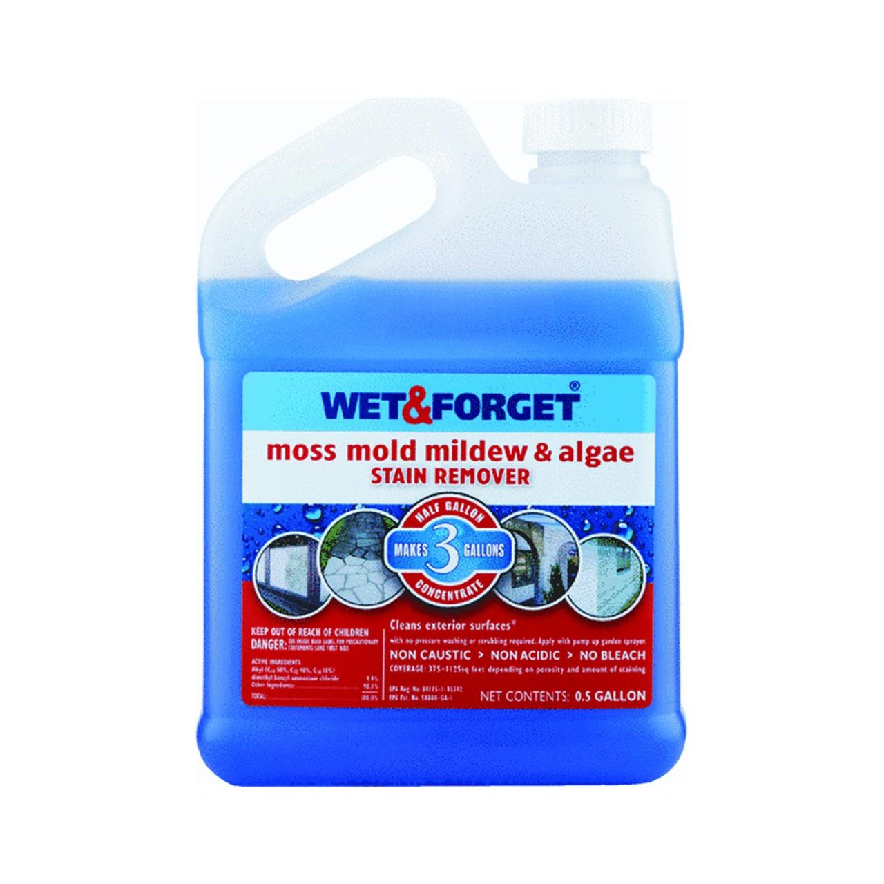 Wet And Forget Moss Mold Mildew & Algae Stain Remover