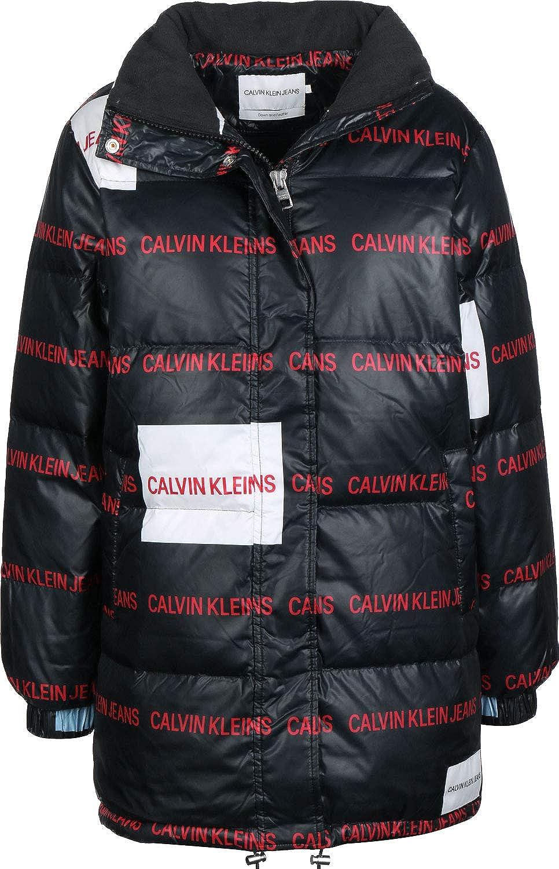 Calvin Klein Jeans Multi Logo W Daunenjacke Black: