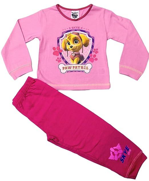 Paw Patrol - Pijama - para niña rosa rosa 4 años