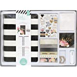 American Crafts Heidi Swapp Memory Planner Kit by Black and White Striped | 929 Pieces