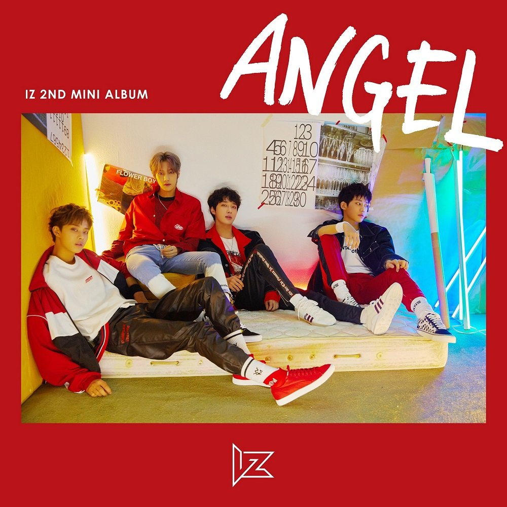 ANGEL CD+Booklet+Photocards+ID Card+Folded Poster 2nd Mini Album Kakao M IZ