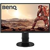 """BenQ GL2706PQ - Monitor de 27"""" LED QHD (2560 x 1440 para Jugar, Tiempo de Respuesta 1ms, Low Blue Light, Flicker-Free, Regulable en Altura con Altavoces, DisplayPort, HDMI, DVI) Negro"""