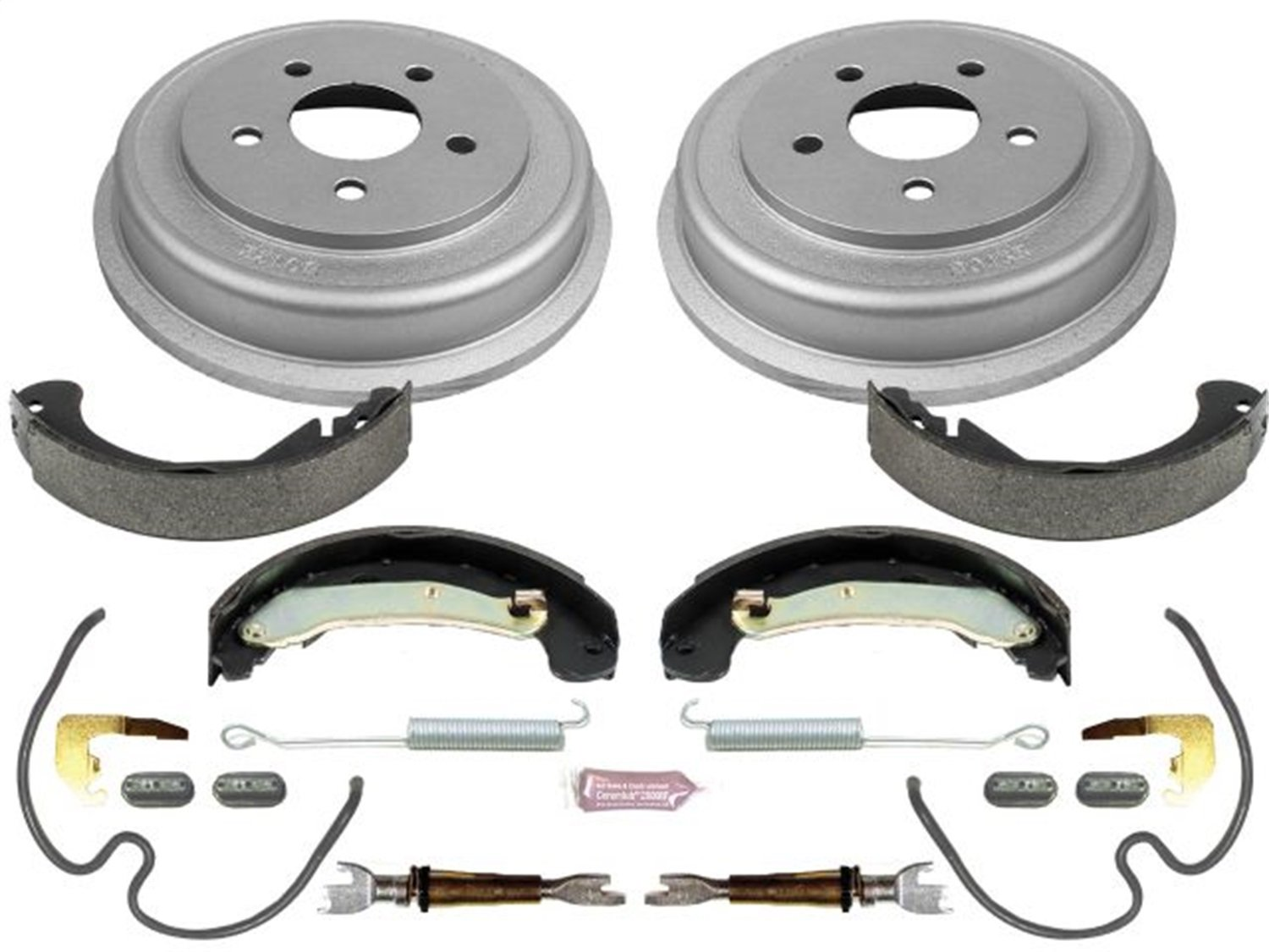 Power Stop Rear KOE15381DK Daily Driver Drum and Shoe Kits