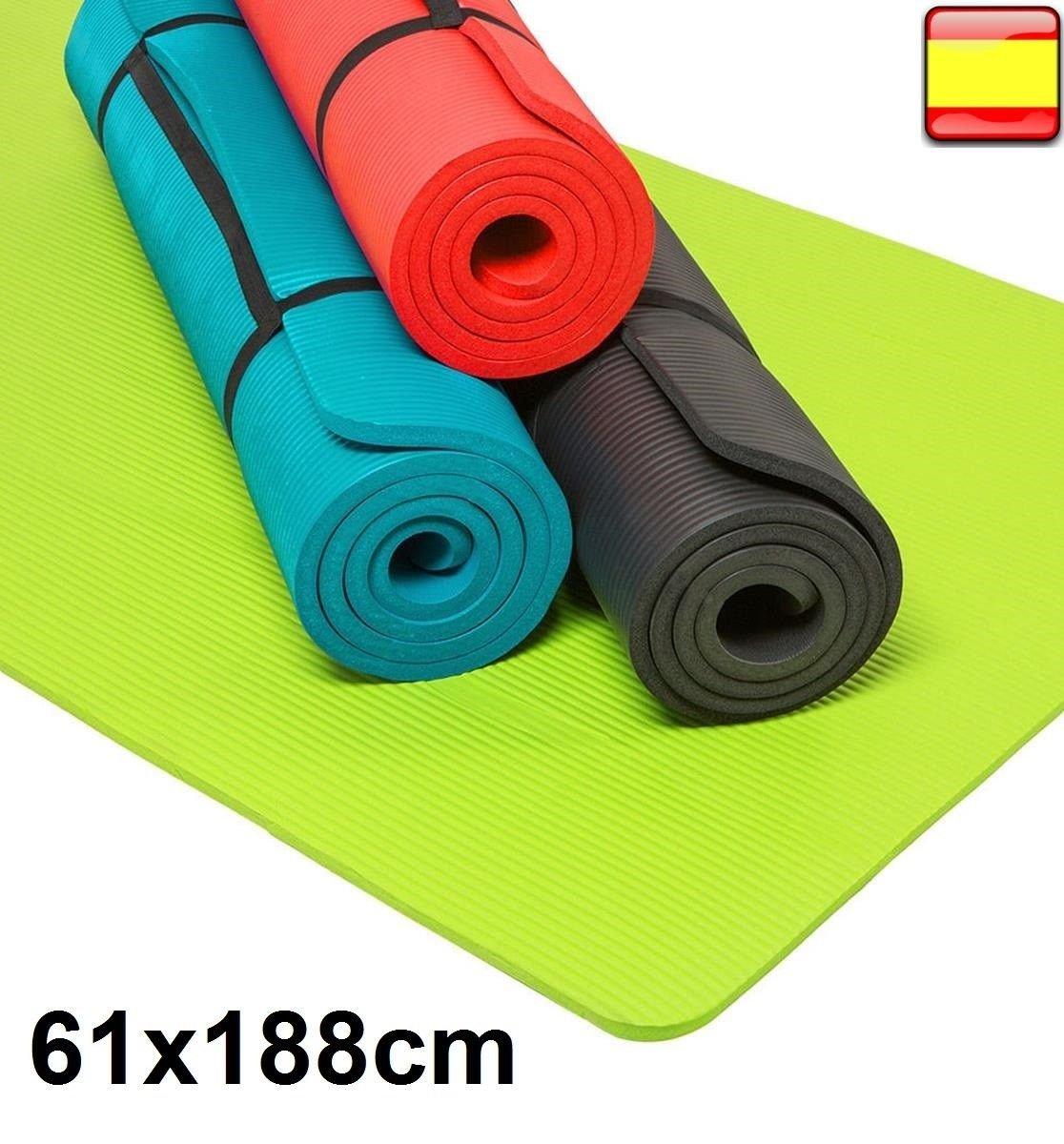 Esterilla para yoga gimnasia Colchoneta de fitness Pilates ...