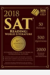 2018 SAT Reading: World Literature Practice Book (Advanced Practice) Paperback