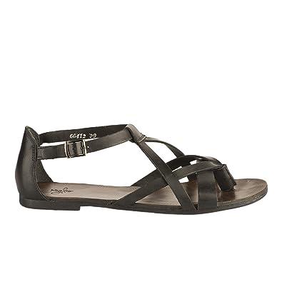 design de qualité 0d9bf 07e5d Miglio Nu Pieds Femme Noir: Amazon.fr: Chaussures et Sacs
