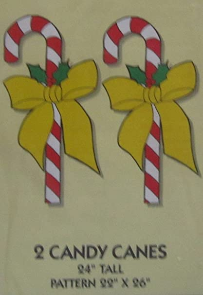 Amazon do it yourself yard art patterns for two 24 christmas do it yourself yard art patterns for two 24 christmas candy canes with easy solutioingenieria Images