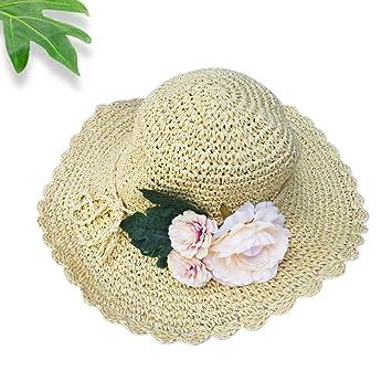 165829e7a48116 Women's Summer Sun Hat Straw Hat Cotton Ladies hats / girl fashion Beach  Hat Women Sunscreen Solid ...