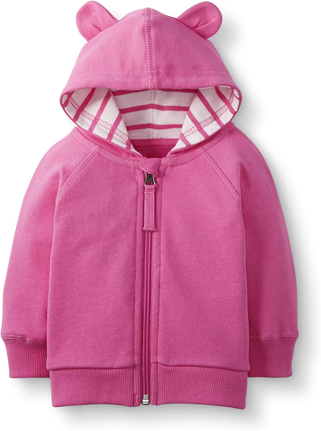 Hanna Andersson Baby//Toddler Bright Basics Bear Hoodie