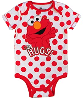 ef238019b Amazon.com: Sesame Street Elmo Cookie Monster Baby Boys' Zip-Up ...
