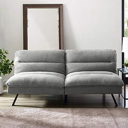 Amazon.com: Modern Convertible Sofa Sleeper - Contemporary ...