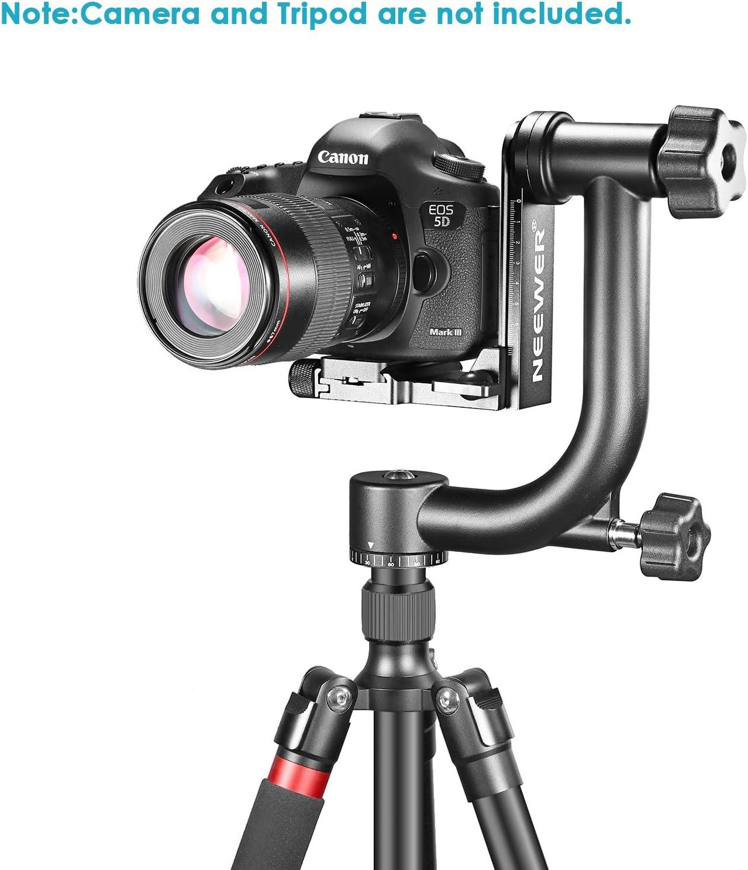 Neewer Professional Heavy Duty Metal 360 Degree Camera Photo