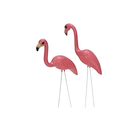 Pink Inc. 263/1 Salmon Pink Flamingos, Pair of 1 : Pink Flamingo Lawn Ornament : Garden & Outdoor