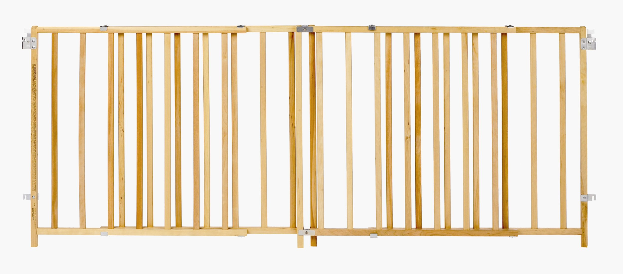 Supergate X Wide Swing Wood Gate, Fits Spaces between 60'' and 103'' Wide by North States