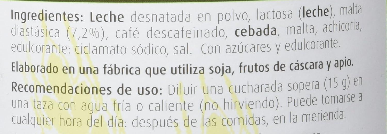 Dietisa - Fecudiet PF sin cafeína, 400 gr: Amazon.es: Salud ...