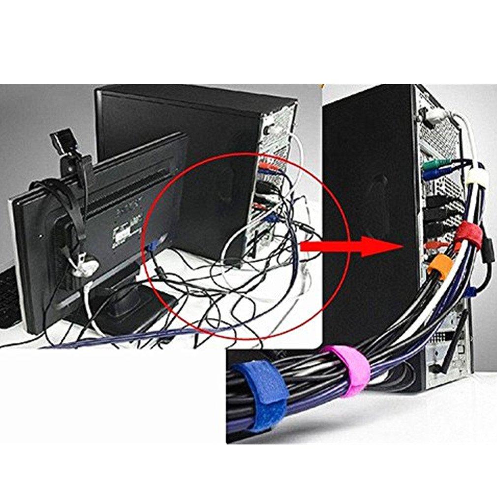 Amazon.com: Generic SUNOAD New 6 pcs Design Smart Wire Cable Drop ...