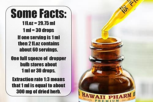 Zhi Gan Cao Alcohol-Free Liquid Extract, Zhi Gan Cao, Licorice Glycyrrhiza Glabra Processed Root Glycerite Natural Herbal Supplement, Hawaii Pharm, USA 2 fl.oz