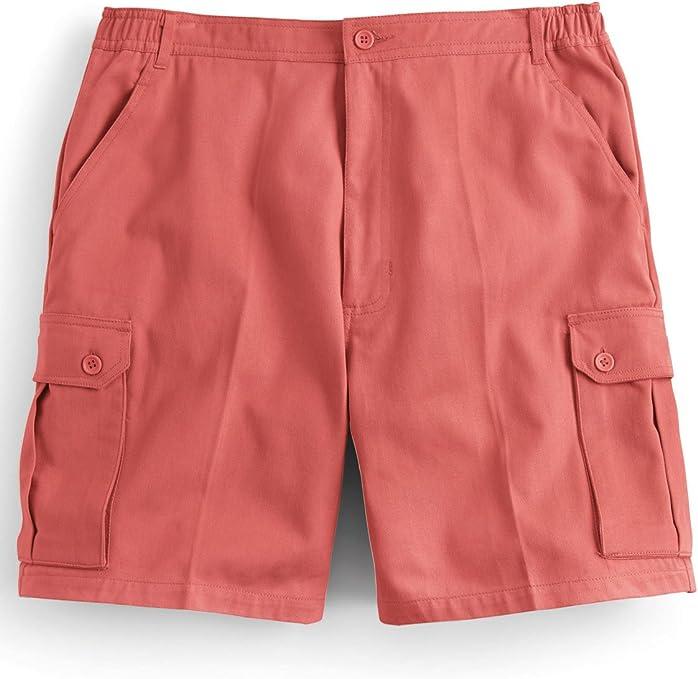 Pantalones Cortos Deportivos De Cargo con Cintura Elástica para Hombre