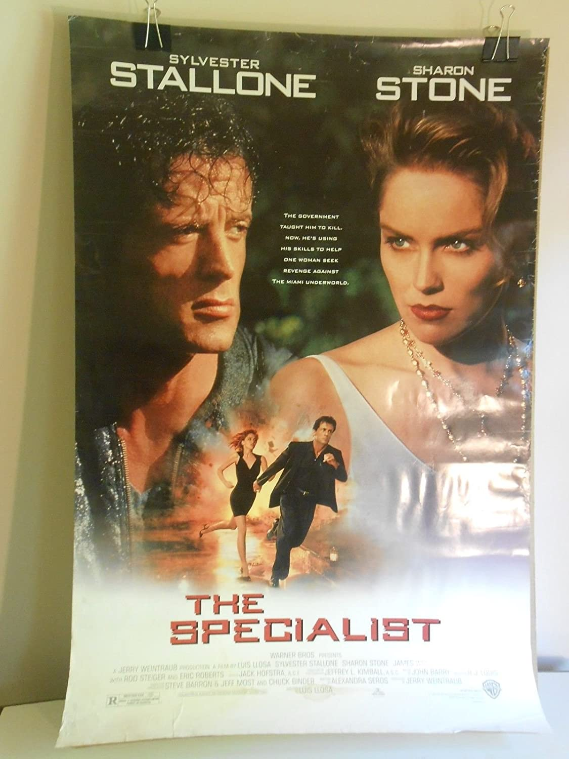 Amazon Com The Specialist 1994 Original 2 Sided Movie Poster Sharon Stone Stallone 27x40 Posters Prints