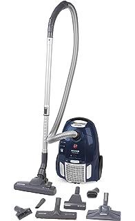 Hoover Telios Plus TE85PET - Aspirador trineo con bolsa, con accesorios especiales para parquet y