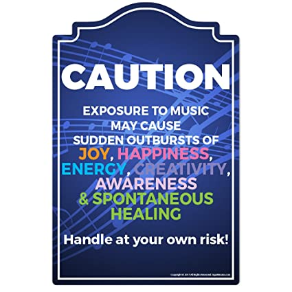 Plaques \u0026 Signs Music Teacher Novelty Sign Funny Home Décor