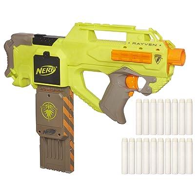 Nerf N-Strike Rayven CS-18 Blaster: Toys & Games
