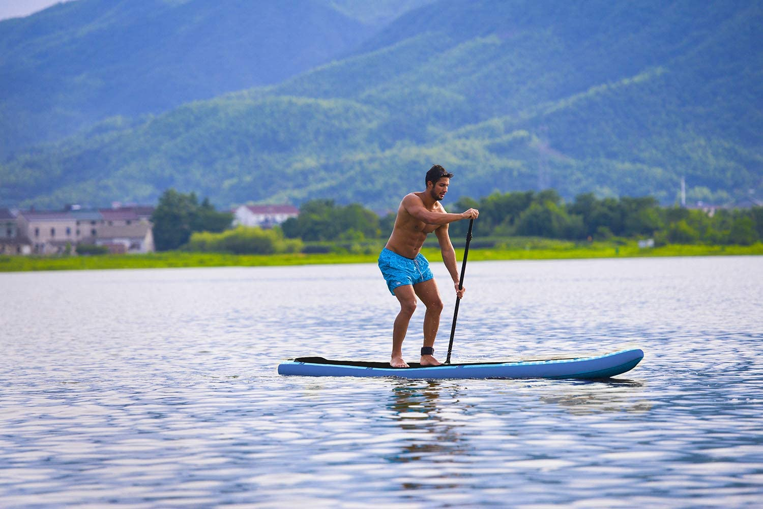 z-Ray 37448 E10 Todo Sup Stand Up Paddle Board Paquete, Azul, 9 9 ...
