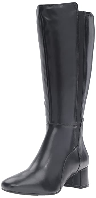 Amazon.com | Naturalizer Women's Naples Wide Calf Riding Boot ...