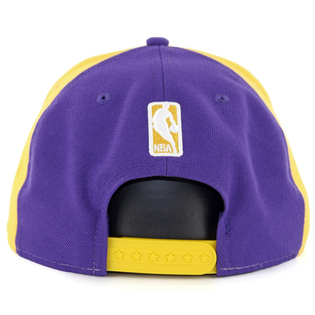 size 40 06c5b 747bb Amazon.com   New Era Los Angeles Lakers Team Retro Wheel Snapback Hat    Sports   Outdoors