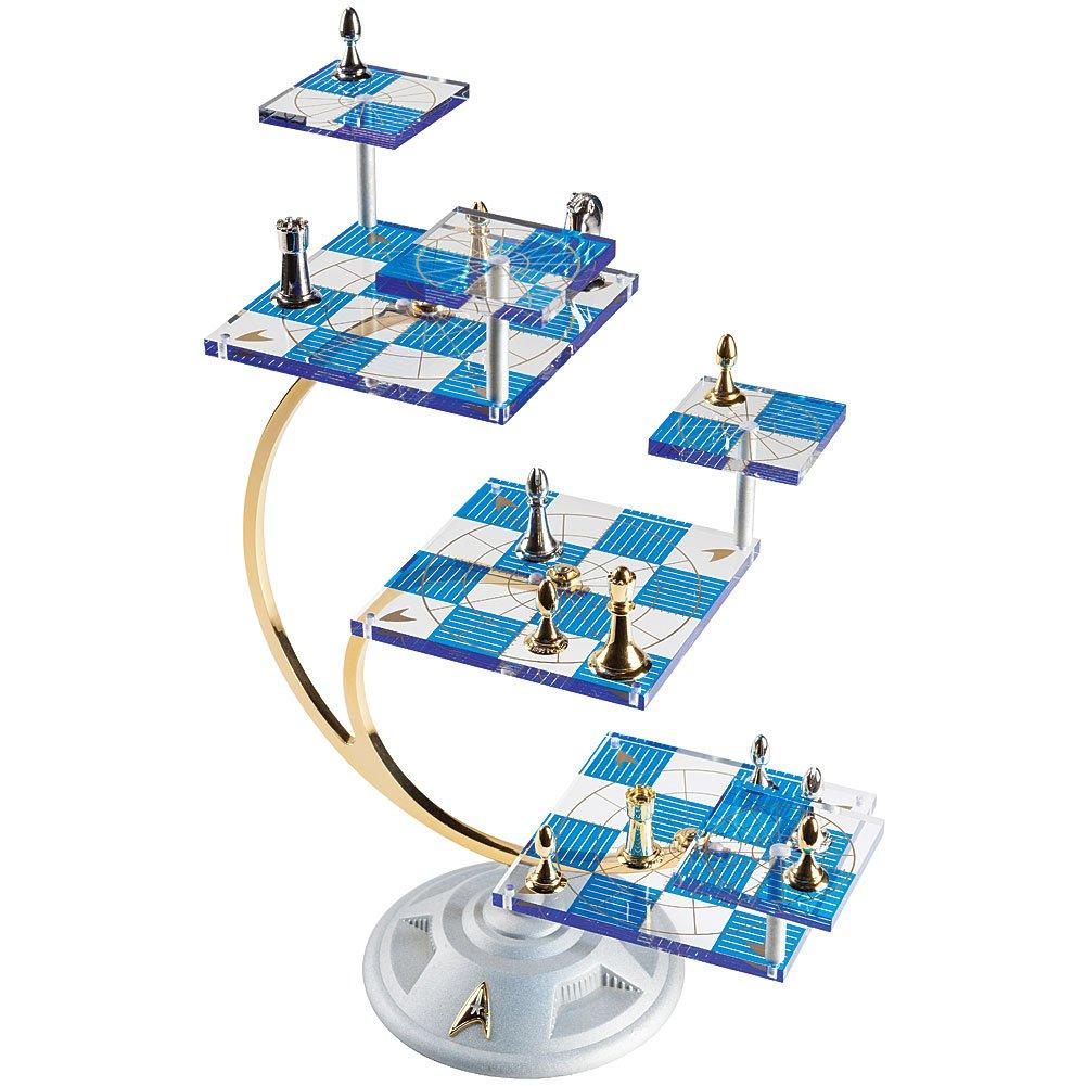 Star Trek Tri Dimensional Chess Set By The Franklin Mint By