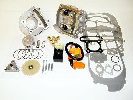 Amazon com : 100cc Big Bore Kit, Performance Coil CDI GY6 50cc